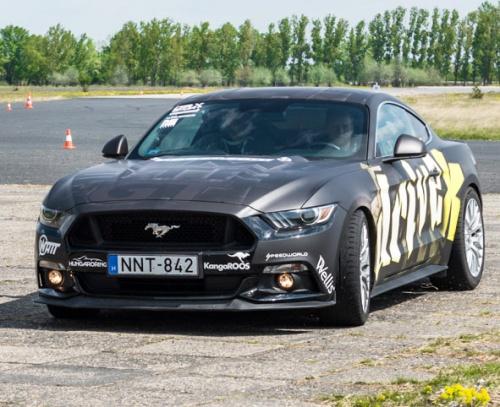 Ford Mustang GT 500 Lóerős Izomautó Vezetés DRXRing 4 kör / 8 km